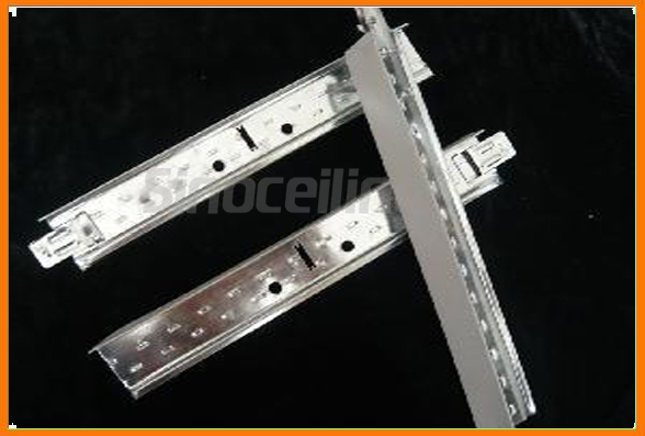 ceiling tee bar,ceiling grids with gypsum ceiling system