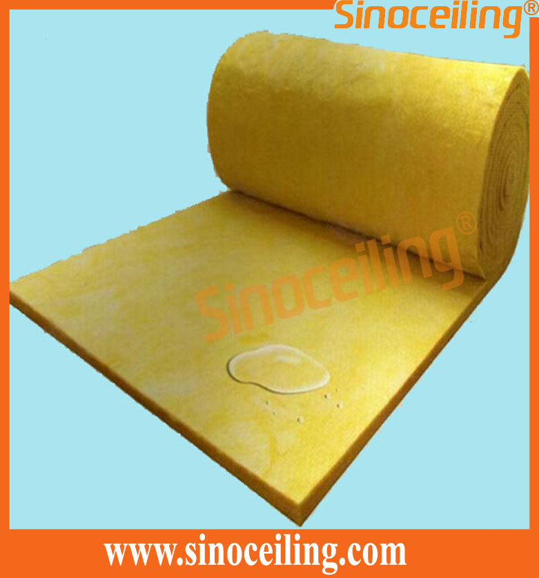 glasswool insulation bare backing