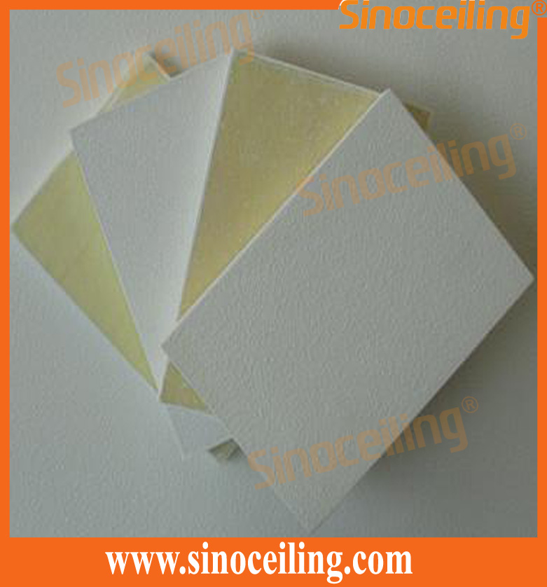 fiberglass ceiling tile backing with mat