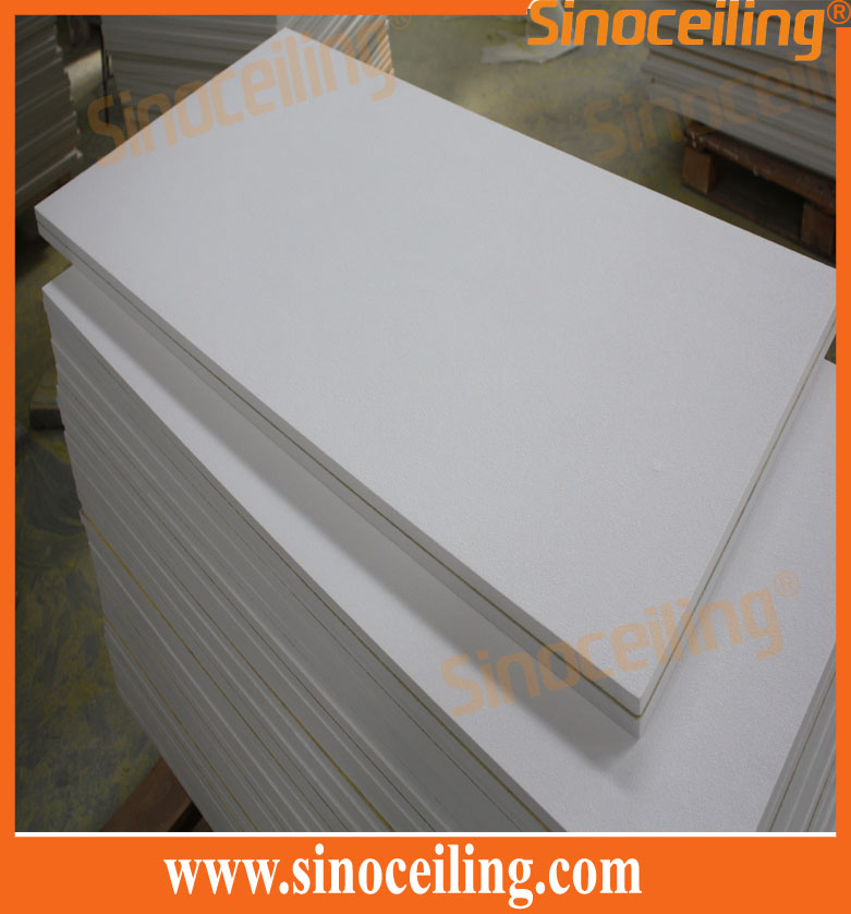 glassfiber ceiling tile 600x1200mm