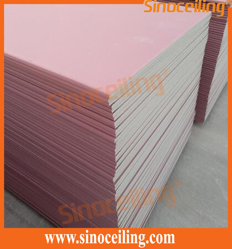 goods of fireproof gypsum board