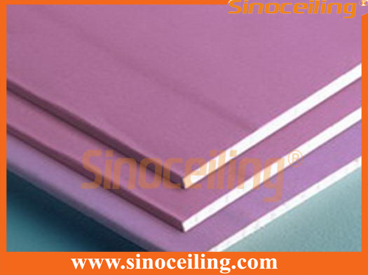 fireproof paper gypsum board