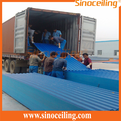 Loading of corrugated roofing sheets