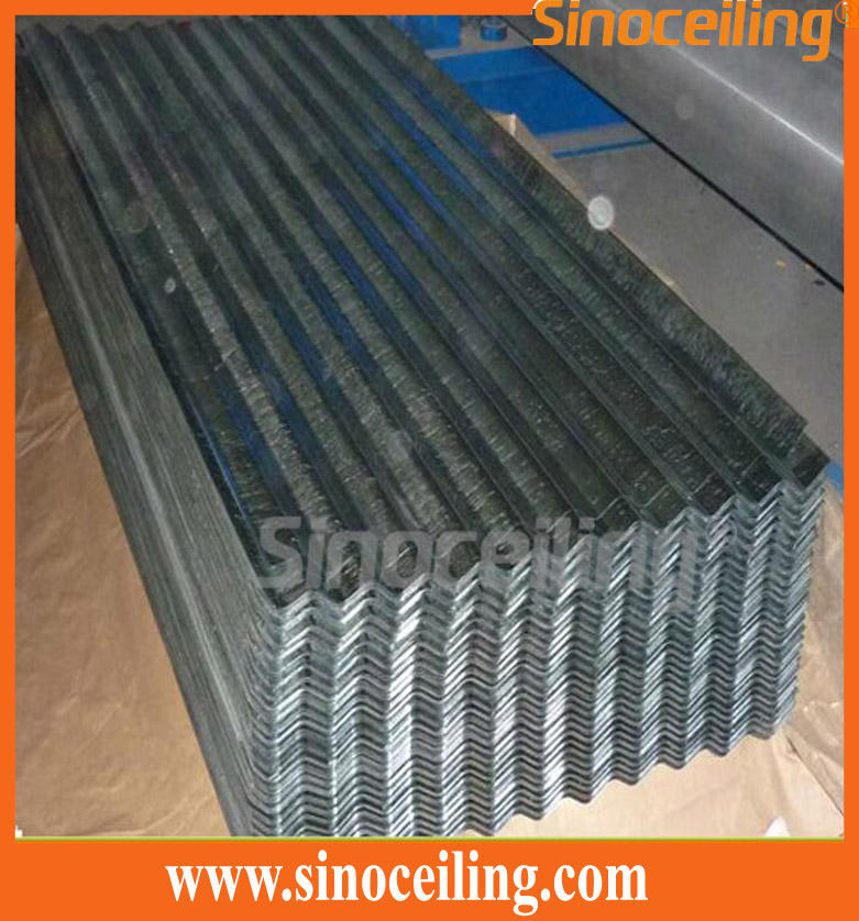galvanized steel corrugated sheet
