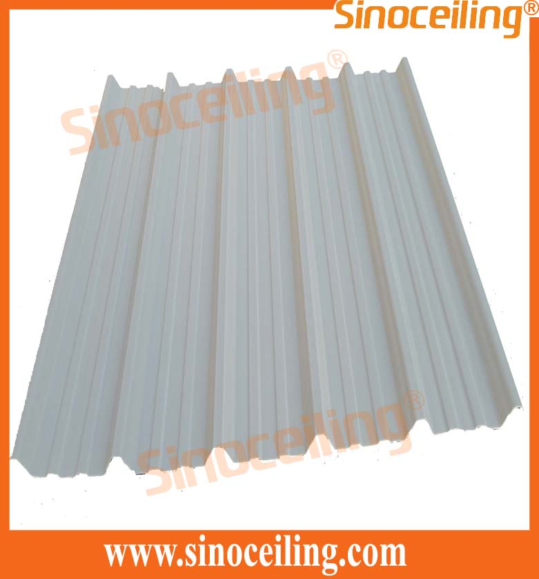 pvc corrugated sheets trapezoid