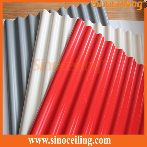 colorful pvc roofing sheet